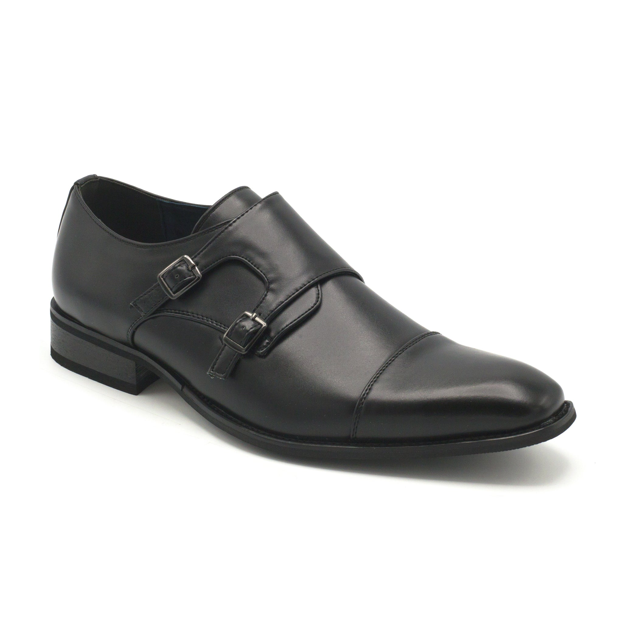 UV SIGNATURE MONK STRAP BLACK