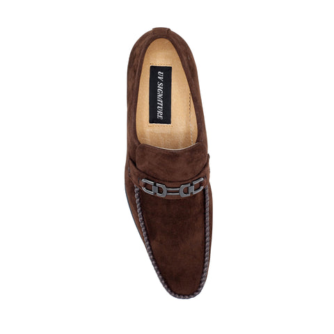 UV SIGNATURE BROWN SLIP-ON LAOFER
