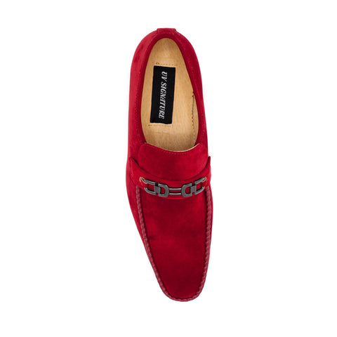 UV SIGNATURE RED SLIP-ON LAOFER