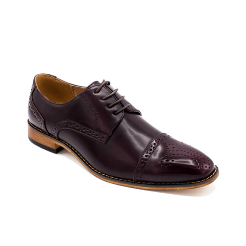 UV SIGNATURE BURG CAP TOE OXFORD
