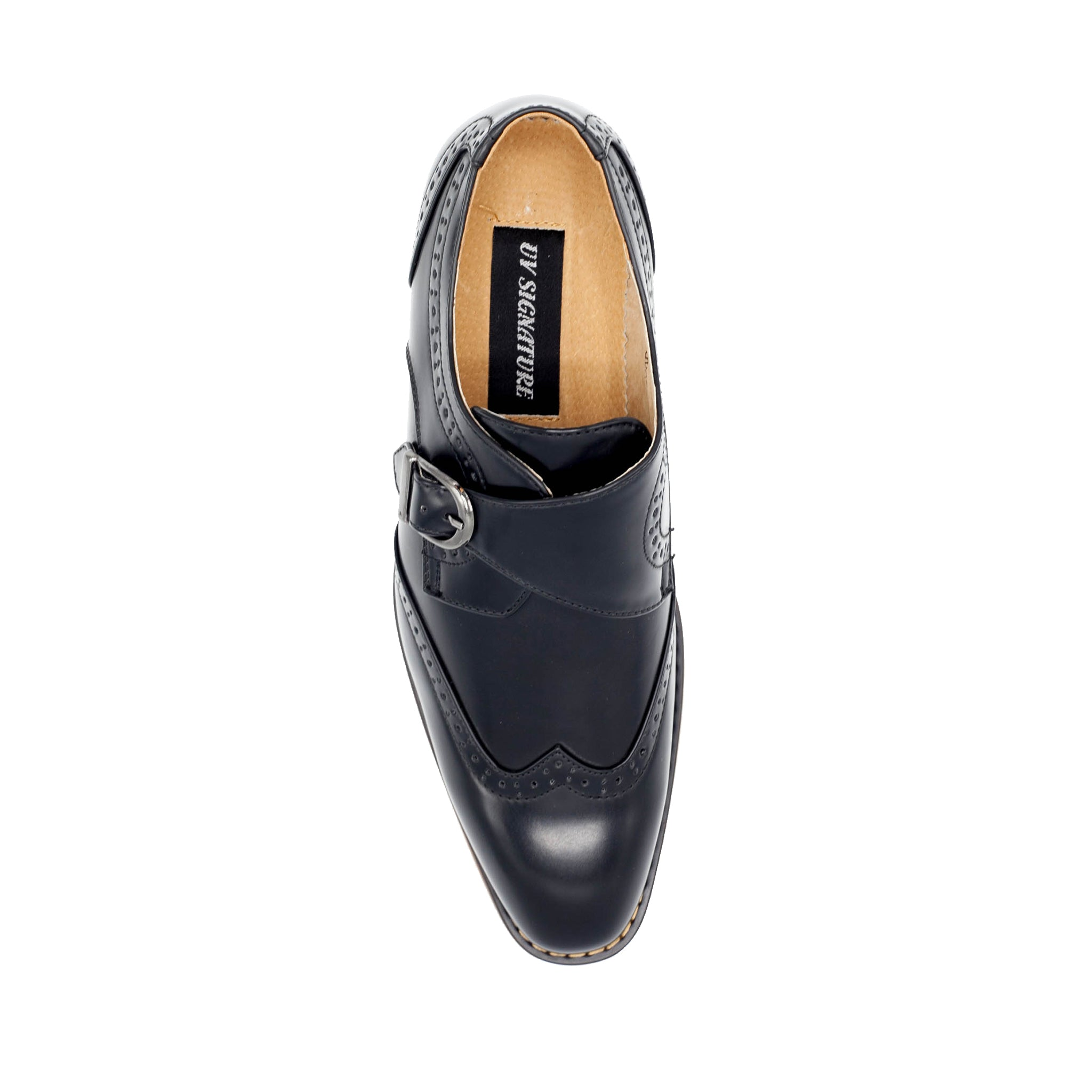UV SIGNATURE BLACK MONK STRAP