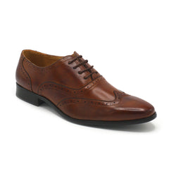UV SIGNATURE LACE UP WINGTIP BROWN