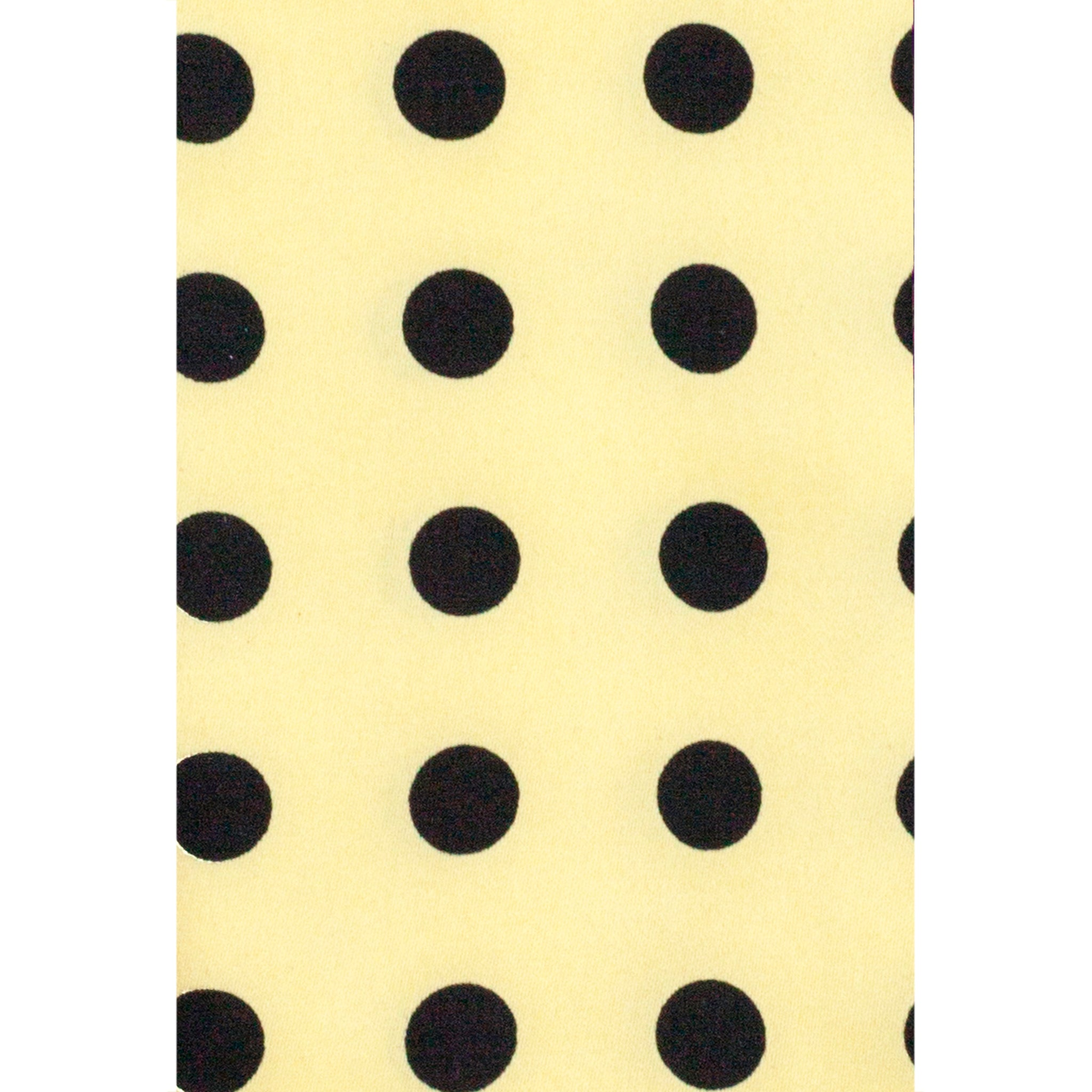 VITTORIO FARINA YELLOW DOTS TIE SET