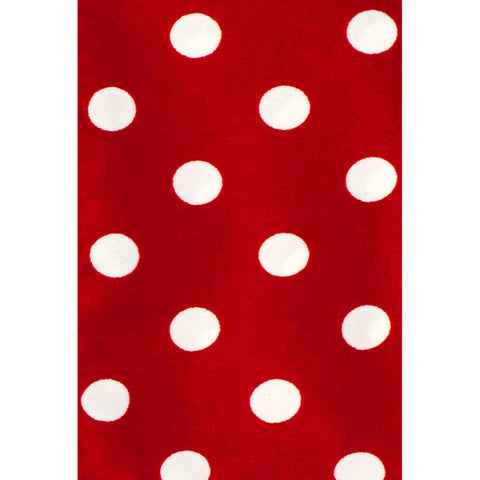 VITTORIO FARINA RED DOTS TIE SET