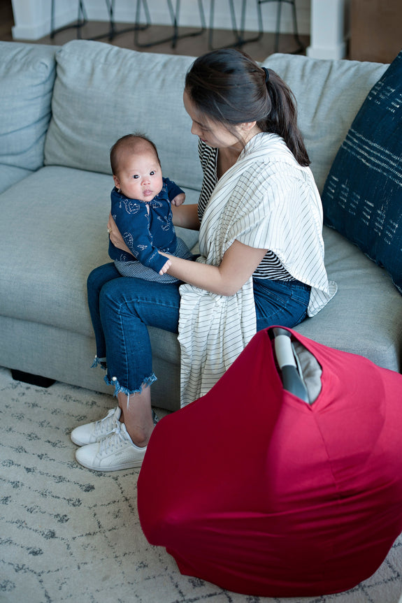 Rowan Car Seat + Nursing Cover