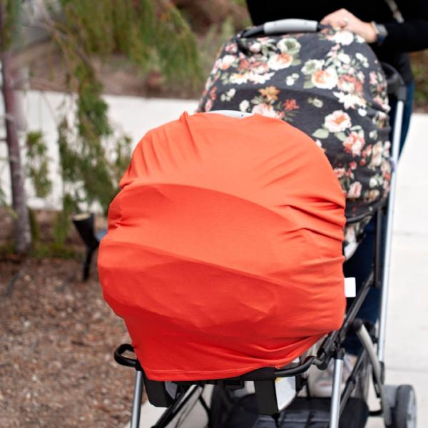 Charlie Car Seat + Nursing Cover