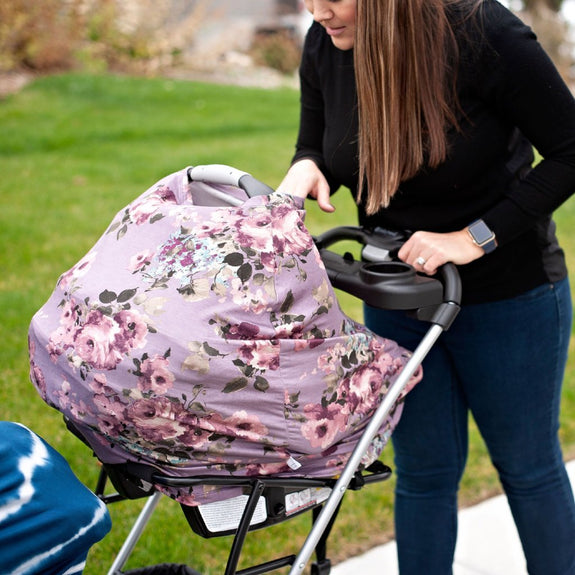 Harper Car Seat + Nursing Cover
