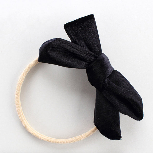 Midnight Velvet Bow