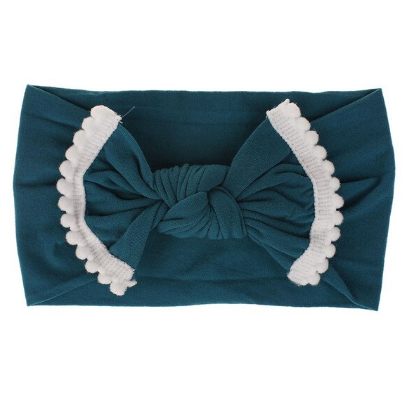 Teal Stretch Headband