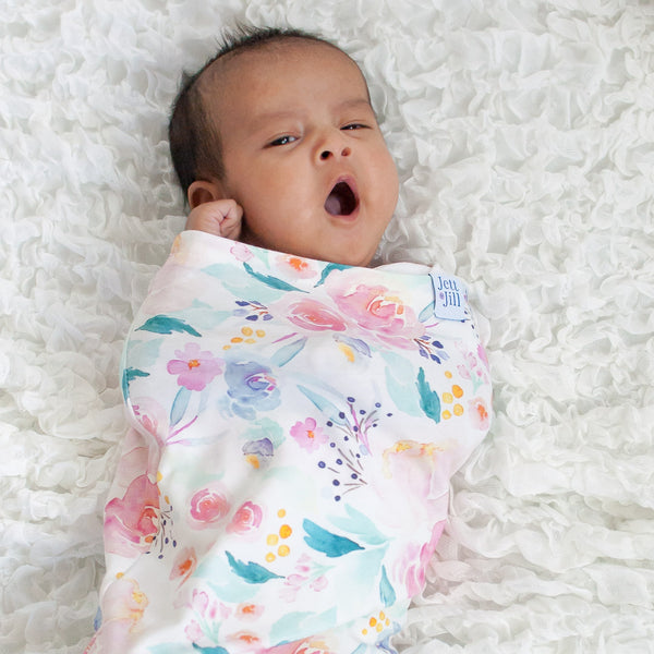 Mermaid Lagoon Baby Swaddle Cocoon