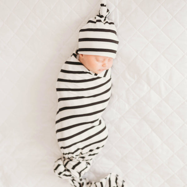 Lennox Knit Blanket + Beanie Set