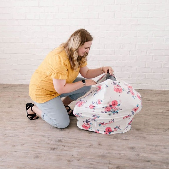 Esme Car Seat + Nursing Cover