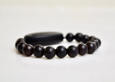 Special Offer Ebony Sandalwood from Authentic Prayer Mala beads 8mm or 10mm