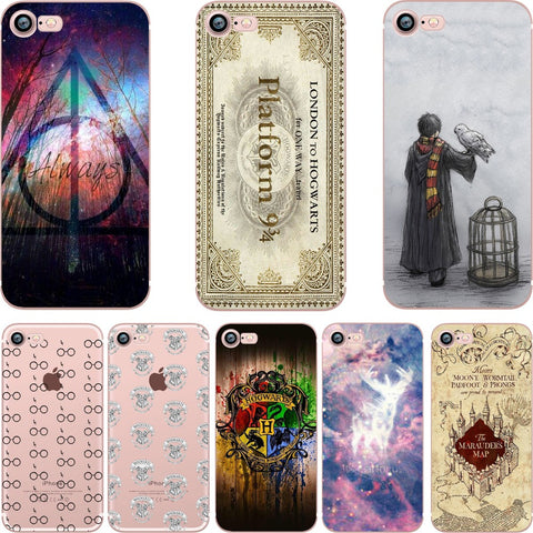 Harry Potter Case for iPhone (6, 6S, 5s, SE, 7, 7plus, 6plus, 6Splus)