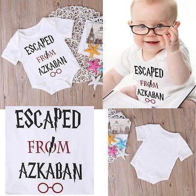 "Harry Potter Baby Onesie ""Escaped from Azkaban"""