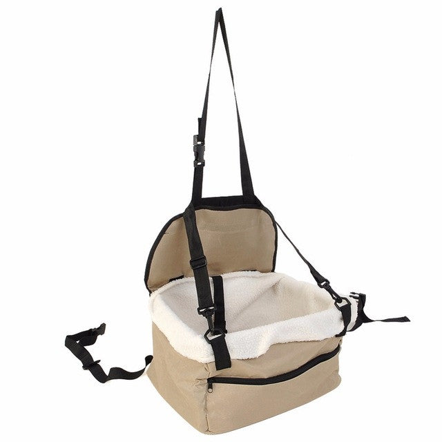 Hammock Style Pet Car Carrier (With Leash)