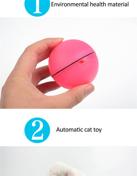 Interactive Laser Pointer Pet Ball Toy