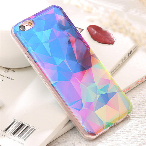 Glam Hologram Style iPhone 7, 6, 6s Case