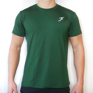 Soft-Stretch Logo Tee - Green