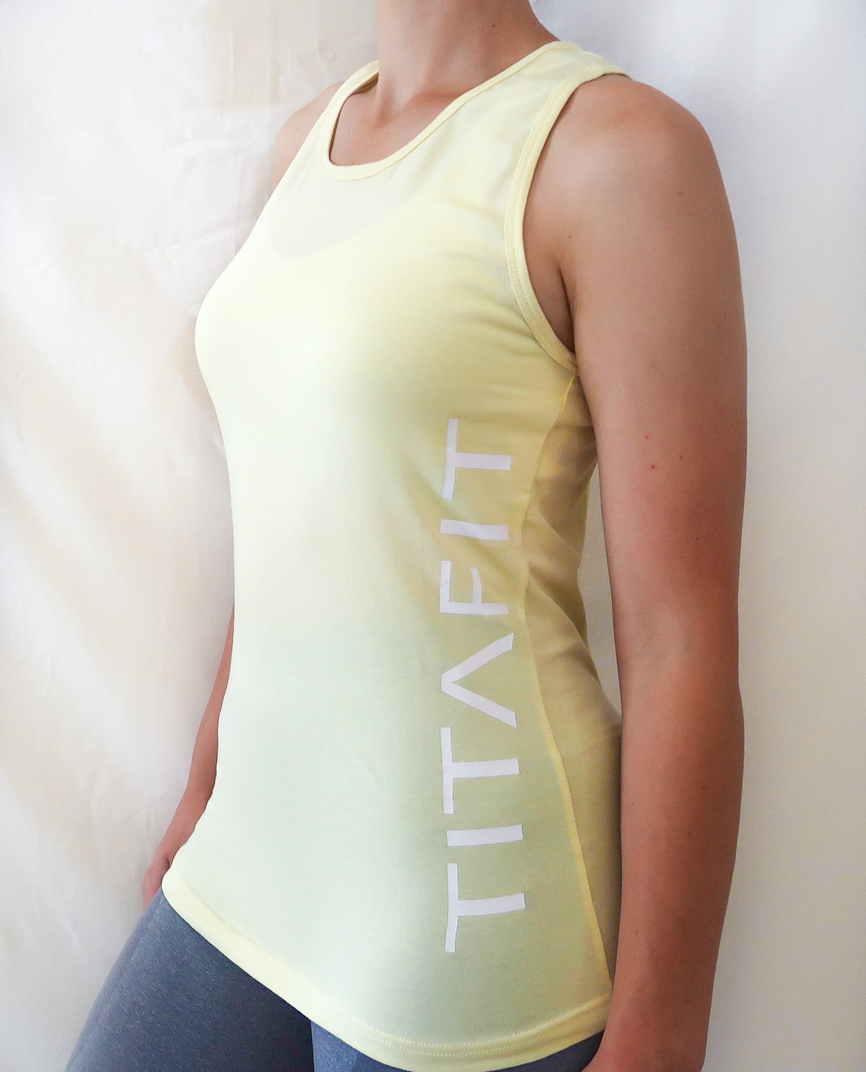 Racerback Tank Top - Yellow