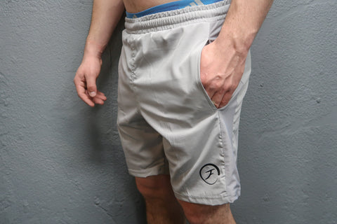 Mens Training Shorts - Grey