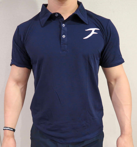 Premium Polo - Navy Blue