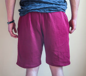 Sweat Shorts - Burgundy