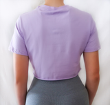 Crop Tee - Purple