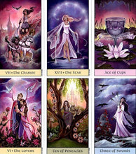 Crystal Visions Tarot Deck By Jennifer Galasso