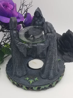 Mother, Maiden, Crone Oil Burner