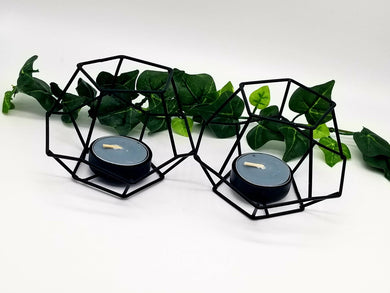 Sacred Geometry Tea Light Candle Holder