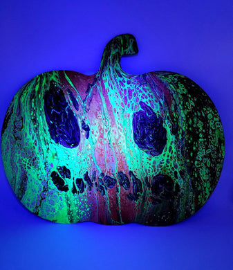 Spooky Pumpkin Art By Manoah Nova