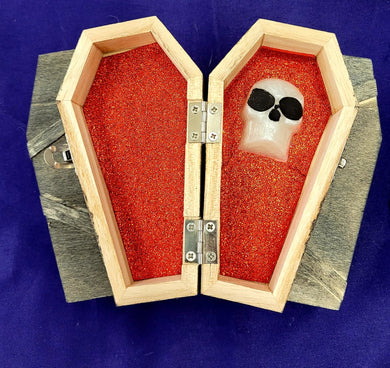 Wooden Coffin Box
