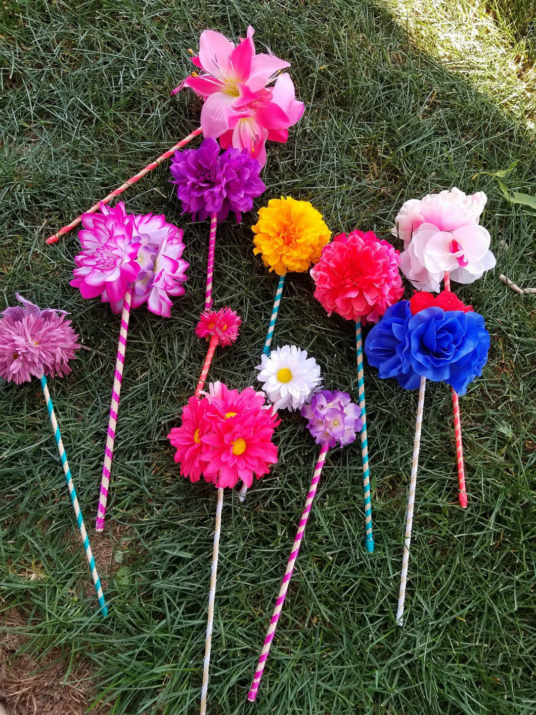 Flower Fairy Wands