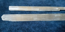"7"" Selenite/Satin Spar Sticks Raw"