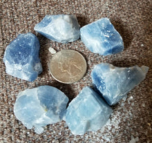 Blue Calcite Raw