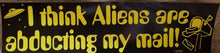 Alien Bumper Stickers
