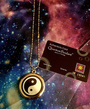 Yin/Yang Quantum Science Energy Necklace