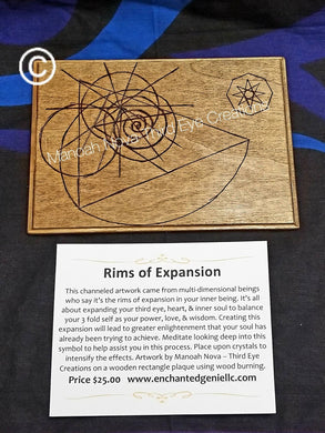 Rims of Expansion (Wood Burned) Grid