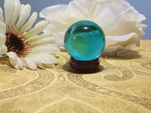 Mini Glass Divination Ball w/stand