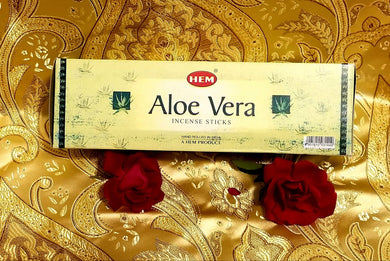Hem Aloe Vera Incense Sticks 8 gram (8 Pack)