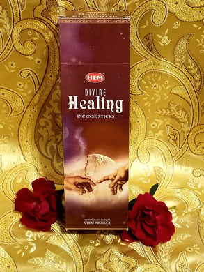 Hem Divine Healing Incense Sticks 8 gram (8 Pack)