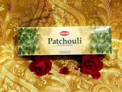 Hem Patchouli Incense Sticks 8 gram (8 Pack)
