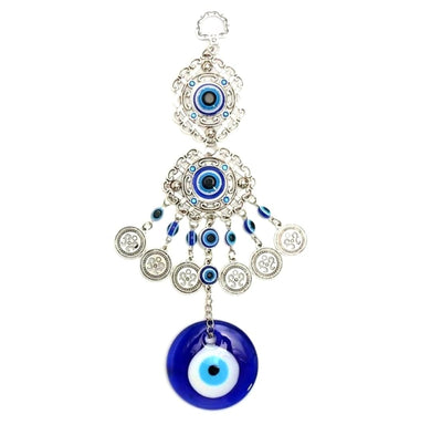 Evil Eye With Coins Wall Hanger