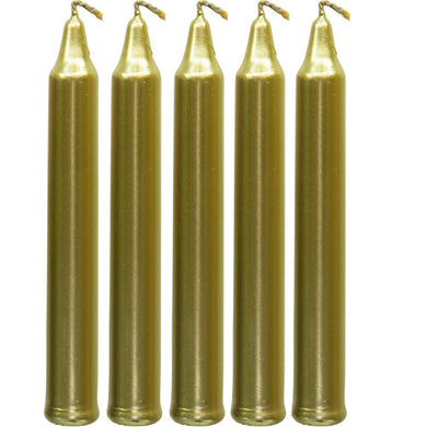 Gold Chime Spell Candles