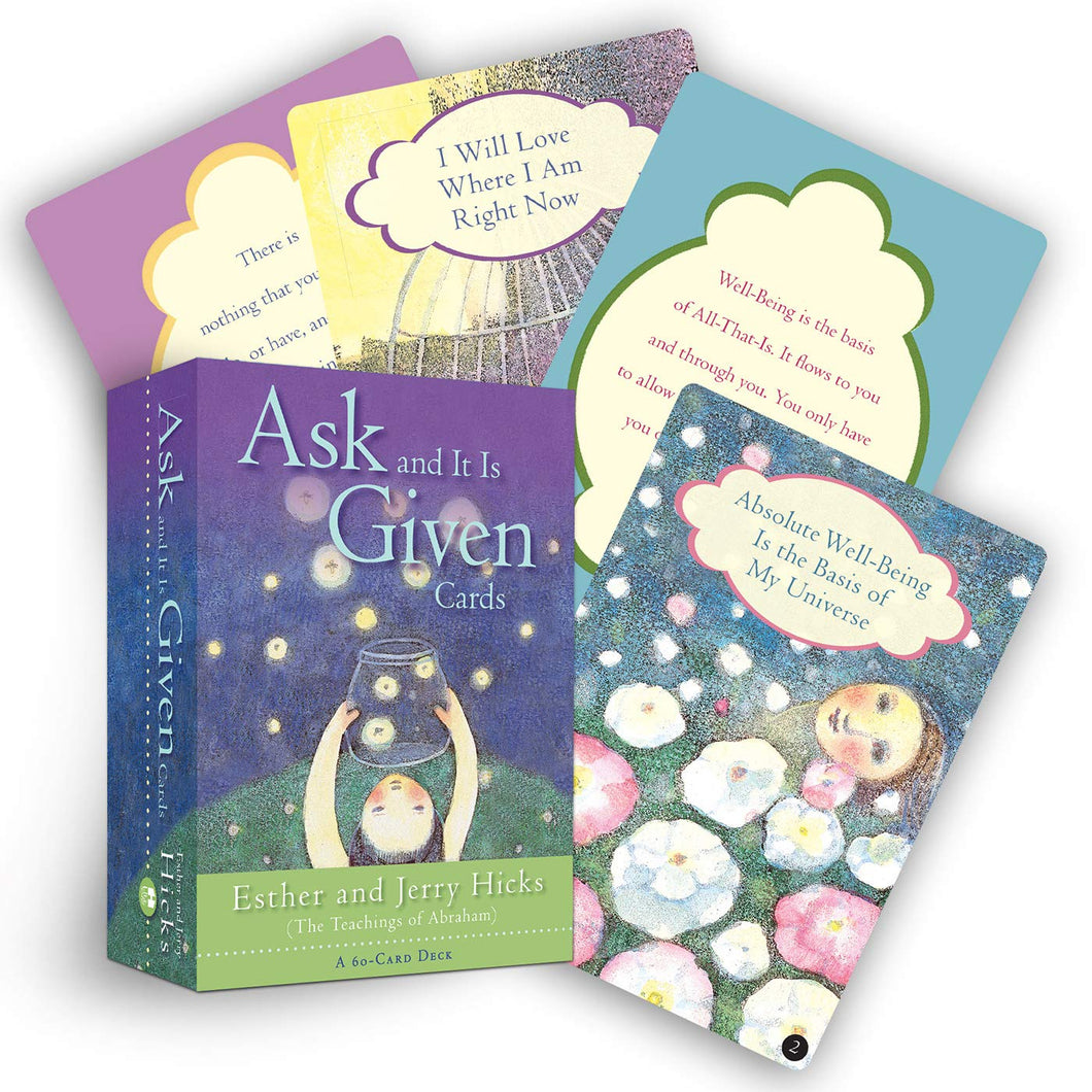 Ask and It Is Given Cards By Esther & Jerry Hicks