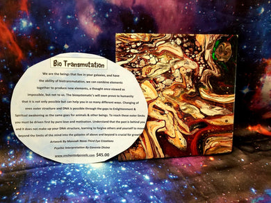Bio Transmutation Tile Painting By Manoah
