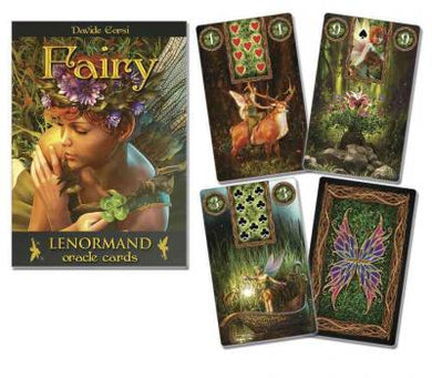 Fairy Lenormand Oracle Deck By Katz & Goodwin