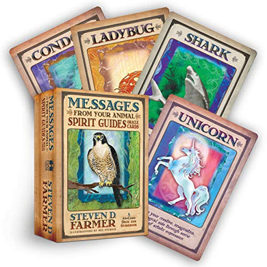 Messages from Your Animal Spirit Guides Oracle Cards By Steven D. Farmer