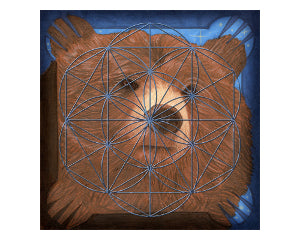 Journey Within (Bear) Mini Crystal Grid Kit